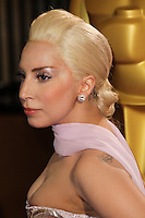 HOLLYWOOD, CA, USA - MARCH 02: Lady Gaga at the 86th Annual Academy Awards held at Dolby Theatre on March 2, 2014 in Hollywood, Los Angeles, California, United States. (Photo by Xavier Collin/Celebrity Monitor)