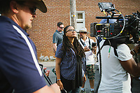 Selma (2014) <br /> Director/Executive Producer Ava DuVernay (center) on the set of <br /> *Filmstill - Editorial Use Only*<br /> CAP/KFS<br /> Image supplied by Capital Pictures