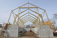 Milford Salt Shed and Stores Building Construction Progress Photography. Site vist 5 of once per month Cronological Documentation. 22 February 2010