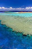 Récif aux abords de l'îlot Ndo, lagon sud, Nouvelle-Calédonie