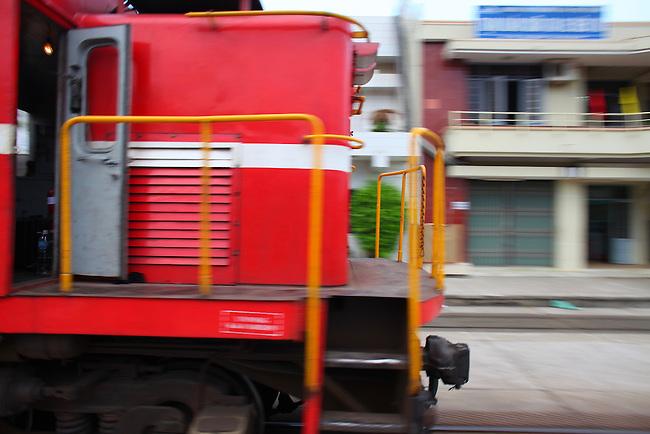 Dieu Tri train station. Quy Nhon, Vietnam. April 28, 2016.
