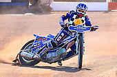 Ben Hopwood of Hackney Hawks in riding action - Hackney Hawks Speedway Press &amp; Practice Day at Arena Essex Raceway, Purfleet, Essex - 23/03/11 - MANDATORY CREDIT: Gavin Ellis/TGSPHOTO - Self billing applies where appropriate - Tel: 0845 094 6026