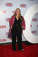 LOS ANGELES - FEB 24:  Geraldine James arrives at the GREAT British Film Reception at the British Consul General's Residence on February 24, 2012 in Los Angeles, CA.