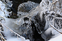&quot;ICE FORMS-5&quot;<br /> <br /> Natural designs and patterns in ice.