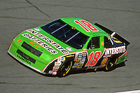 DAYTONA BEACH, FL - FEBRUARY 14: Dale Jarrett drives his Interstate Batteries Chevrolet Lumina during practice for the Daytona 500 NASCAR Winston Cup race at the Daytona International Speedway in Daytona Beach, Florida, on February 14, 1993.
