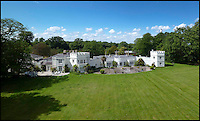 BNPS.co.uk (01202 558833)<br /> Pic: StruttandParker/BNPS<br /> <br /> ***Please Use Full Byline***<br /> <br /> FYI: The Eaglehurst estate, once the holiday home to Queen Victoria. <br /> <br /> <br /> A grand country estate which almost became Queen Victoria's summer house has gone on the market for a whopping 6.5 million pounds.<br /> <br /> The monarch fell in love with the enormous Eaglehurst estate when she stayed there as a 14-year-old in 1833.<br /> <br /> Four years later Victoria ascended the throne and, wanting somewhere to which she and her beloved husband Albert could retreat from the pressures of court life, began searching for a holiday residence. <br /> <br /> Her first thought was Eaglehurst. Albert was taken with the unbeatable views of the Solent, which he likened to the Bay of Naples, but the pair eventually settled on Osborne House almost directly opposite Eaglehurst on the Isle of Wight.<br /> <br /> The 10-acre estate dates back to the early 1800s when it was built by General Richard Lambart, a Napoleonic era military commander who was the governor of nearby Calshot Castle.<br /> <br /> Eaglehurst is now on the market with Strutt and Parker for 6.5 million pounds.