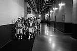 2013 May 27: The team leaves their locker room to head to the field to take on the Syracuse Orange for the national championship.