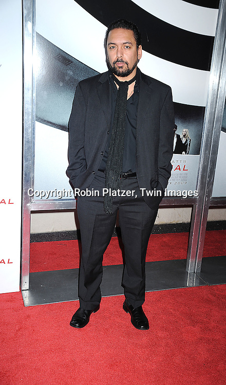 "actor Felix Solis..attending The Cinema Society and Columbia Pictures world premiere of ""The International"" on February 9, 2009 at ..the AMC Lincoln Square in New York City. Clive Owens and Naomi Watts are the stars of the movie. ....Robin Platzer, Twin Images"
