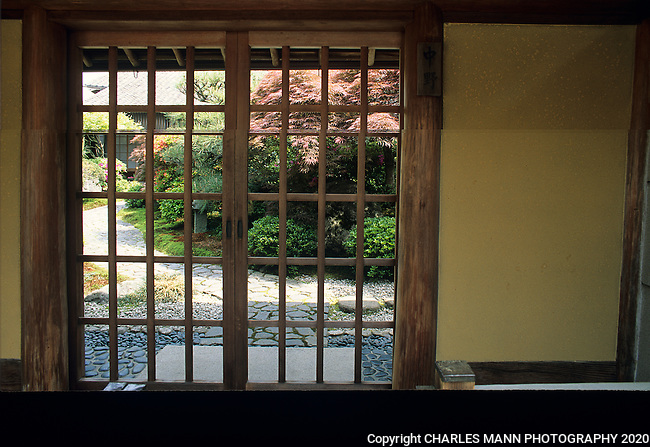Zen gardens are given an added allure by  being hidden or inaccessible to the public.