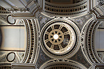 Dome of Basilica of Our Lady of Pilar Church; Zaragoza - Saragossa; Aragon; Spain