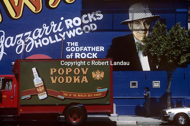 Gazzarri's Night Club on the Sunset Strip in Los Angeles, California, 1985