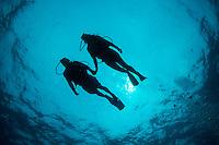 Diver silhouette<br /> Virgin Islands