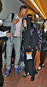 Will Smith, Willow Smith, Tokyo, Japan, May 7, 2012 : Actor Will Smith(L) and his daughter Willow Smith arrive at Haneda Airport in Tokyo, Japan on May 7, 2012.