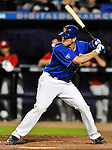 5 March 2012: New York Mets catcher Josh Thole in action during a Spring Training game against the Washington Nationals at Digital Domain Park in Port St. Lucie, Florida. The Nationals defeated the Mets 3-1 in Grapefruit League play. Mandatory Credit: Ed Wolfstein Photo