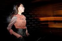 Backstage Mercedes-Benz Fashion Week 2013