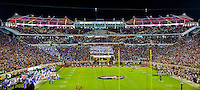 TALLAHASSEE, FLA. 11/26/16-The Champions Club  above the south endzone of Doak Campbell Stadium during the Florida State University versus University of Florida football game in Tallahassee.<br /> COLIN HACKLEY PHOTO