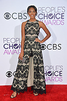 Chandler Kinney at the 2017 People's Choice Awards at The Microsoft Theatre, L.A. Live, Los Angeles, USA 18th January  2017<br /> Picture: Paul Smith/Featureflash/SilverHub 0208 004 5359 sales@silverhubmedia.com
