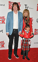 Julian Lloyd Webber, Jiaxin Cheng and Jasmine Orienta Lloyd Webber at the &quot;School of Rock: The Musical&quot; VIP opening night, New London Theatre, Drury Lanes, London, England, UK, on Monday 14 November 2016. <br /> CAP/CAN<br /> &copy;CAN/Capital Pictures /MediaPunch ***NORTH AND SOUTH AMERICAS ONLY***