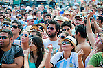 Music Fans at the New Orleans Jazz and Heritage Festival in New Orleans, Louisiana, May 1, 2011.