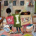 Still I Rise 24x24, 6/2/14, 2:46 PM, 16C, 7574x7623 (422+2415), 108%, Repro 2.2 v2,  1/20 s, R121.9, G97.5, B93.2