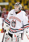 Bryan Mountain (NU - 46) - The Northeastern University Huskies defeated the Harvard University Crimson 4-1 (EN) on Monday, February 8, 2010, at the TD Garden in Boston, Massachusetts, in the 2010 Beanpot consolation game.
