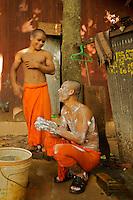 Wat Po Langkar, Monks at the Monastery, Siem Reap Cambodia