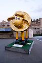 London, UK. 07.04.2015. Shaun the Sheep, charity sculptures, London, UK. Shaun-Xiao, Tower of London. Photograph © Jane Hobson.