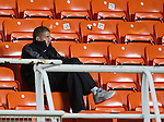 Gregory Vignal sitting in the stands freezing and wondering if this is what Friday nights are like in Dundee