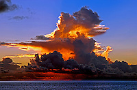 Storm over Truk Lagoon
