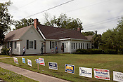May 8, 2012. Durham, NC.. Voters came in steadily at the Forest Hill club house. .  Voters took to the polls today to vote in primaries for both parties and on Amendment One, which would define the only legal relationship between 2 people as a marriage between a man and a woman.