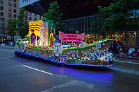 Seafair Torchlight Parade, Seattle Stock Photos