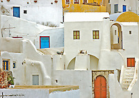 The Images from the Book Journey through Color and Time, 2006, GREECE, THE COLORS  OF SANTORINI