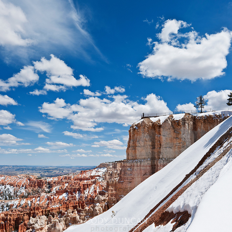 Scenic view of Upper Inspiration Point, Bryce Canyon national park, Utah, USA