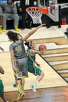 03 APR 2012: Brittney Griner (42) of Baylor University blocks a shot by Kayla McBride (23) of the University of Notre Dame during the Division I Women's Basketball Championship held at the Pepsi Center in Denver, CO. Matt Marriott/NCAA Photos