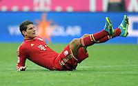 FUSSBALL   1. BUNDESLIGA  SAISON 2011/2012   21. Spieltag FC Bayern Muenchen - 1. FC Kaiserslautern       11.02.2012 Mario Gomez (FC Bayern Muenchen)