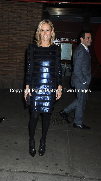 Tory Burch attending The Glamour Magazine 20th Annual Women of the Year on November 8, 2010 at Carnegie Hall in New York City.