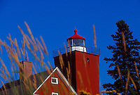 THE TWO HARBORS LIGHTHOUSE IN TWO HARBORS, MINNESOTA.