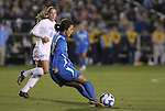 05 December 2008: UCLA's Erin Hardy. The University of North Carolina Tar Heels defeated the University of California Los Angeles Bruins 1-0 at WakeMed Soccer Park in Cary, NC in an NCAA Division I Women's College Cup semifinal game.