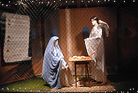 The Santa Monica Nativity Scene:Scene 1 The Annunciation - Santa Monica Police Officers Association, on Tuesday, December 12, 2010.