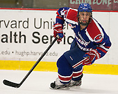 Joseph Pendenza (UML - 14) - The visiting University of Massachusetts Lowell River Hawks defeated the Harvard University Crimson 5-0 on Monday, December 10, 2012, at Bright Hockey Center in Cambridge, Massachusetts.