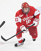 Danny O'Regan (BU - 10) - The Boston College Eagles defeated the visiting Boston University Terriers 5-2 on Saturday, December 1, 2012, at Kelley Rink in Conte Forum in Chestnut Hill, Massachusetts.