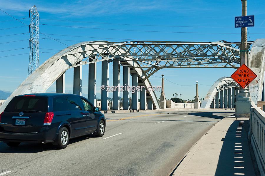Sixth Street Concrete Span  Bridge, Los Angeles, CA