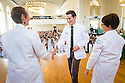 Christa Zehle, M.D., left, Caleb Seufert, Tania Bertsch, M.D. Class of 2017 White Coat Ceremony.