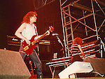 Neil Murray & Neil Carter performing live with Gary Moore at Reading Rock Festival in 1982