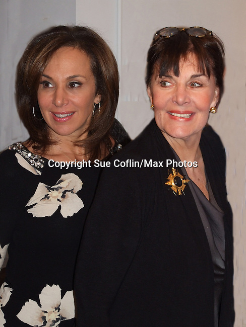 Another World and GH, OLTL and AMC Linda Dano and Good Day New York Anchor Rosanno Scotto (members of HeartShare Board of Directors) at 4th Annual ArtShare for HeartShare for Artists with Intellectual and Developmental Disabilities on November 16, 2012 at New Century Artists Gallery, New York City, New York.  Artist in photo is Jacky Wojciechowski with his parents. (Photo by Sue Coflin/Max Photos)