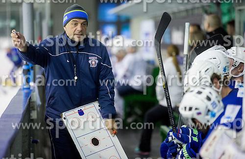 Matjaz Kopitar, head coach during practice session of Slovenian National Ice Hockey Team prior to the IIHF World Championship in Ostrava (CZE), on April 21, 2015 in Hala Tivoli, Ljubljana, Slovenia. Photo by Vid Ponikvar / Sportida