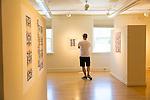 The 2016 Disjecta Art Biennial on display at Crow's Shadow, Pendleton, Oregon