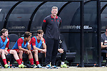 29 November 2015: Indiana head coach Todd Yeagley. The Wake Forest University Demon Deacons hosted the Indiana University Hoosiers at Spry Stadium in Winston-Salem, North Carolina in a 2015 NCAA Division I Men's Soccer Tournament Third Round match. Wake Forest won the game 1-0.