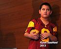 USC Trojans introduce New Head Football Coach Steve Sarkisian Tuesday, December 3, 2014 at the John McKay Center on campus in Los Angeles,California….Photo by © Jon SooHoo/2013
