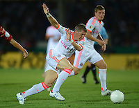 FUSSBALL  DFB POKAL       SAISON 2012/2013 Jahn Regensburg - FC Bayern Muenchen  20.08.2012 Bastian Schweinsteiger (FC Bayern Muenchen)